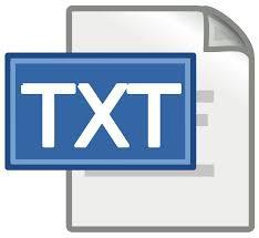Восстановление текстовых файлов
