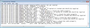Восстановление базы данных sql