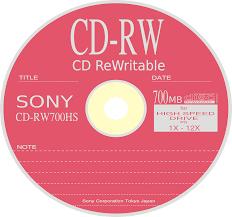 Восстановление дисков rw